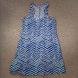 Zebra cotton Lilly dress